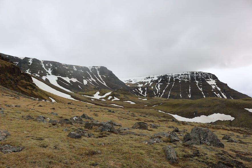 Mount Esjan is right near Reykjavik.