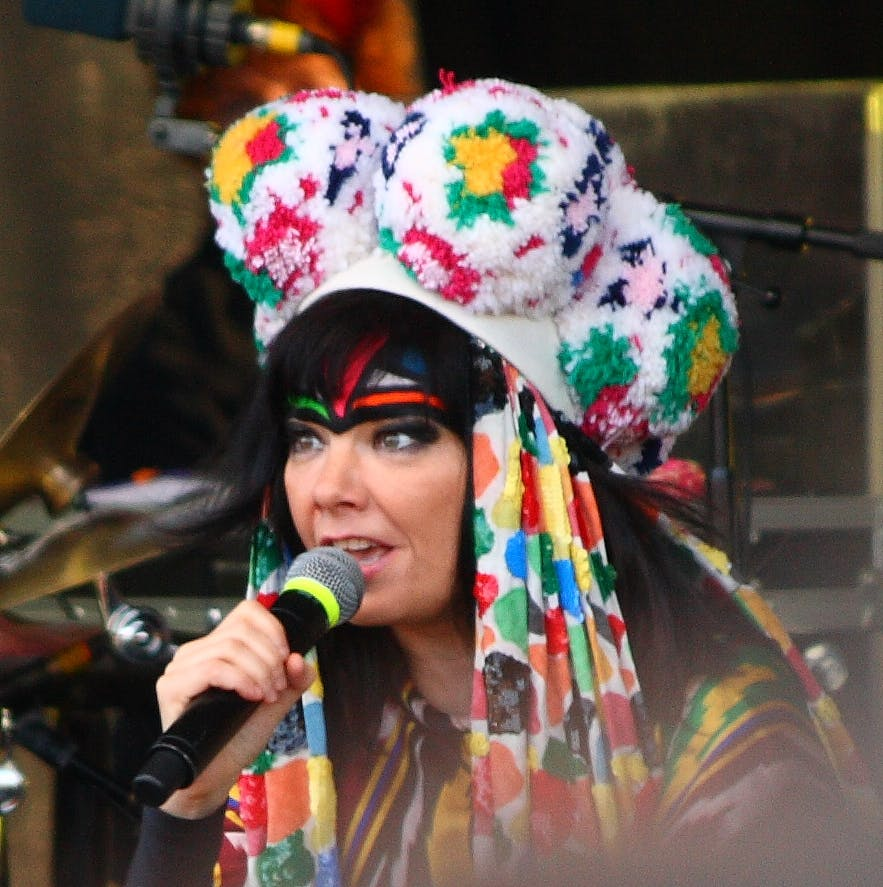 Björk is probably Iceland's most famous person