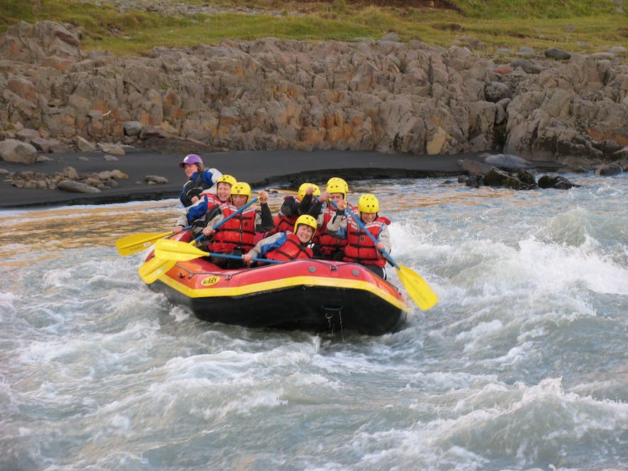 The West Glacial River is easier than the Beast in the East - but it still poses its own challenges!