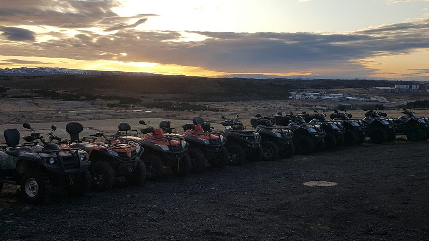 ATVs and Buggies are both great ways to explore Iceland.