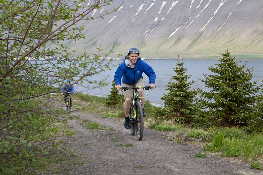 Cycling is an incredibly popular past time in Iceland among locals and visitors alike.