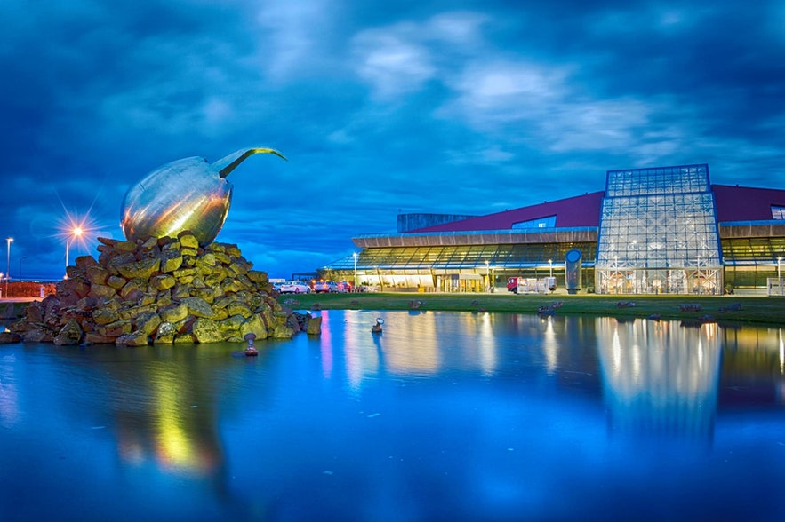 Keflavik is the port of arrival for Iceland's travellers.