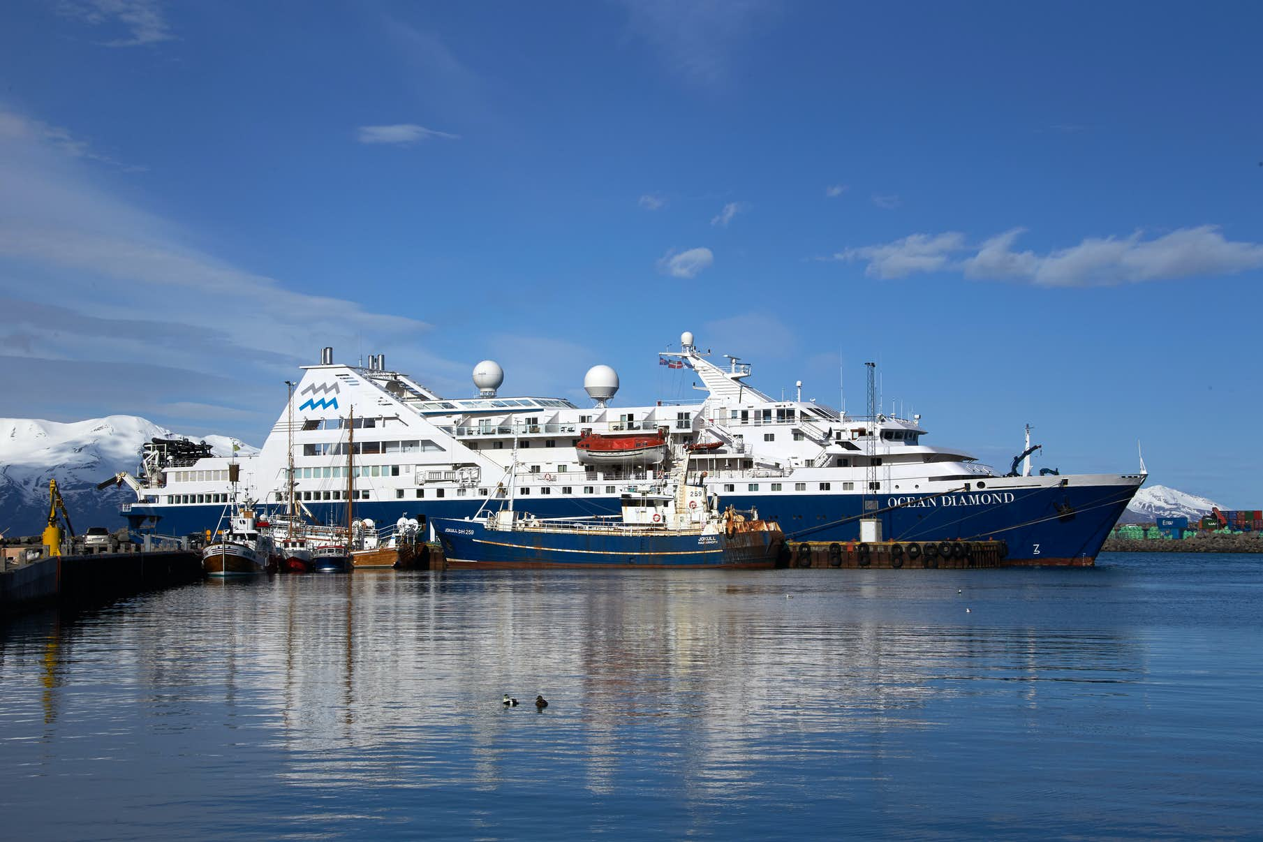 Travelling to Iceland by Cruise Ship