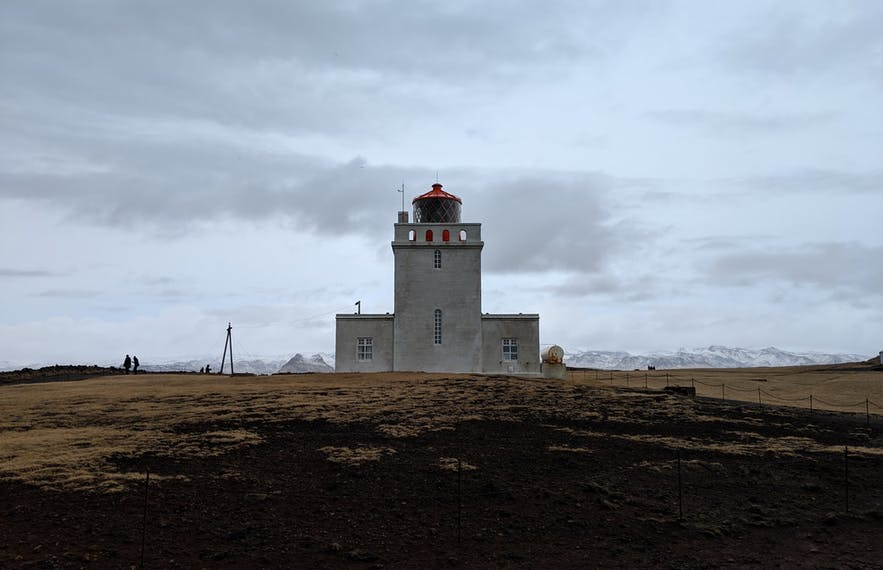 Dyrholaey has a unique lighthouse on the South Coast.