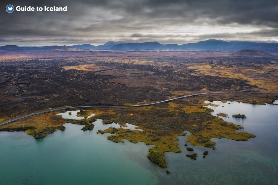 Myvatn is an amazing place to spend a day in North Iceland.