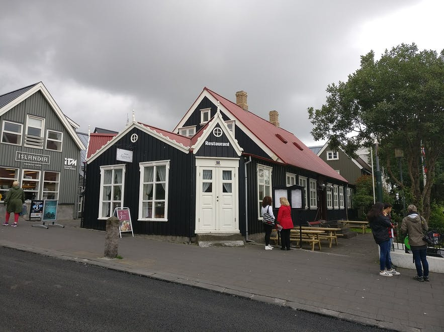 Bankastraeti has some of Reykjavik's oldest buildings.