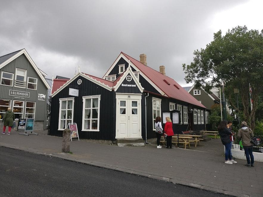 Bankastraeti has some of Reykjavik's oldest buildings.