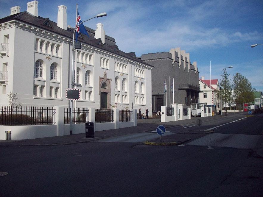 Hverfisgata sits by Laugavegur in Reykjavik,