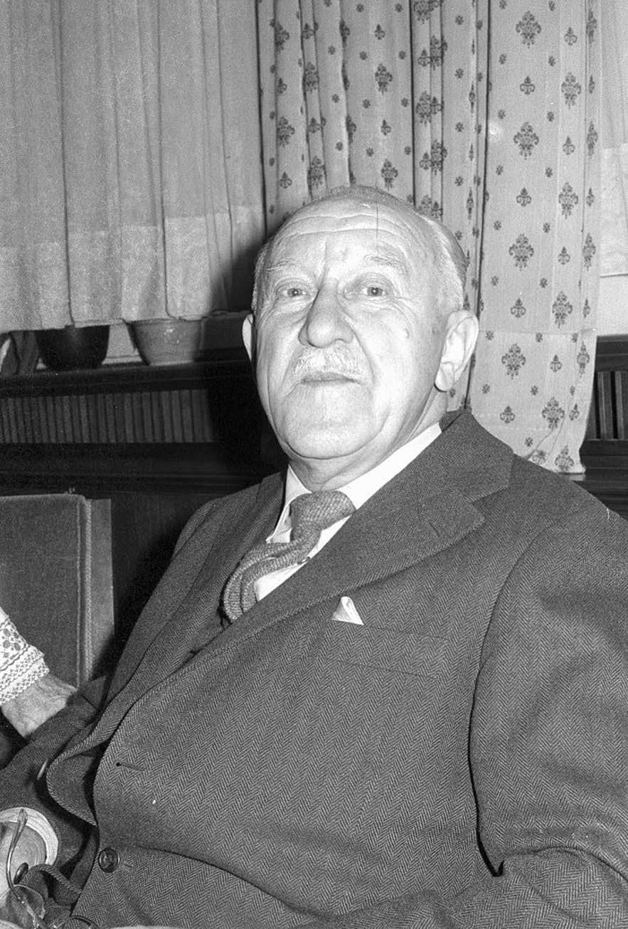Halldor Laxness is one of Iceland's most famous residents.