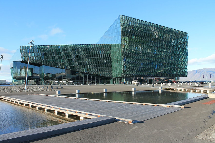 Harpa is one of Reykjavik's most striking features.