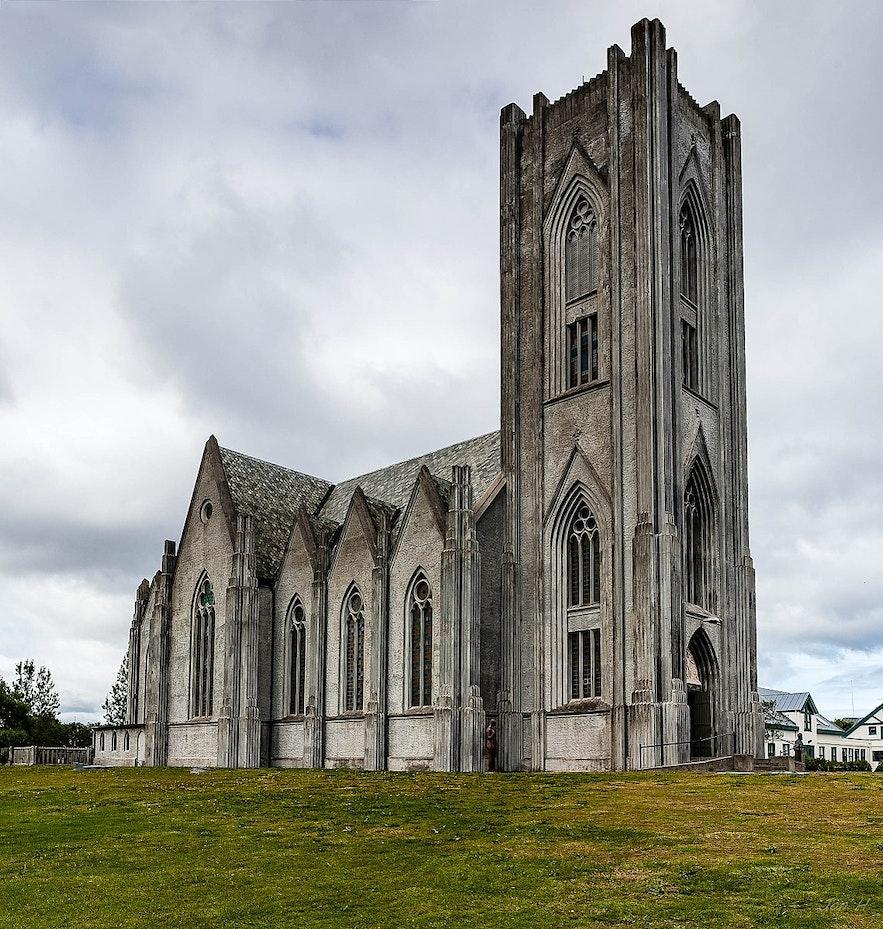 Before Hallgrímskirkja, Landakotskirkja was the largest church in Iceland.