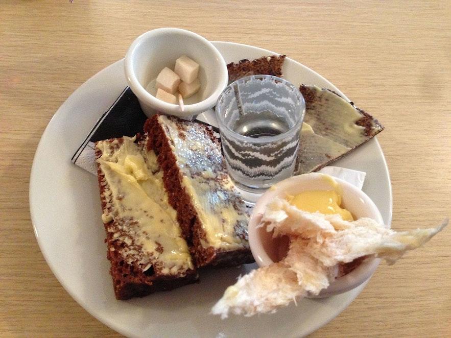 Icelandic food is unusual but creative.