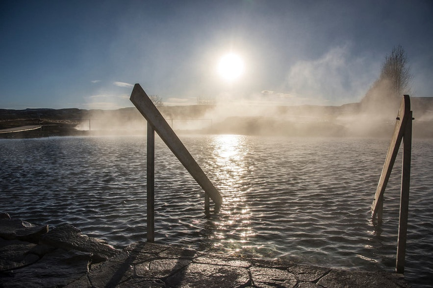 The Secret Lagoon is one of Iceland's most beautiful spots.