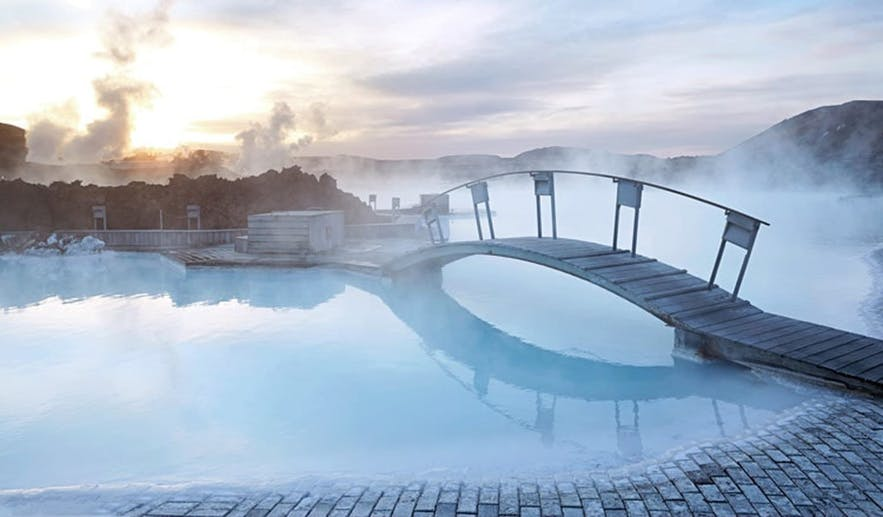 The Blue Lagoon's water are mesmerising.