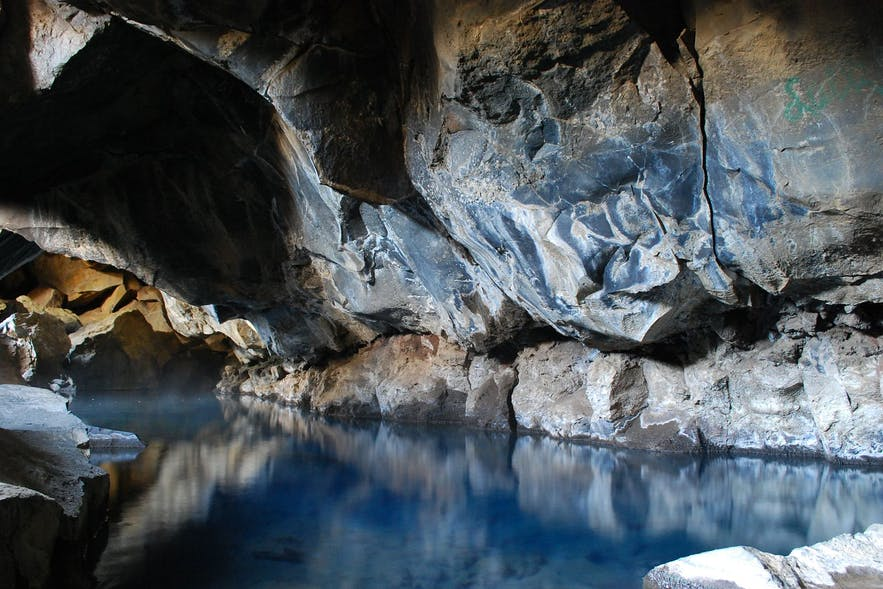 Bathing is not allowed in Grjotagja cave and hot spring.