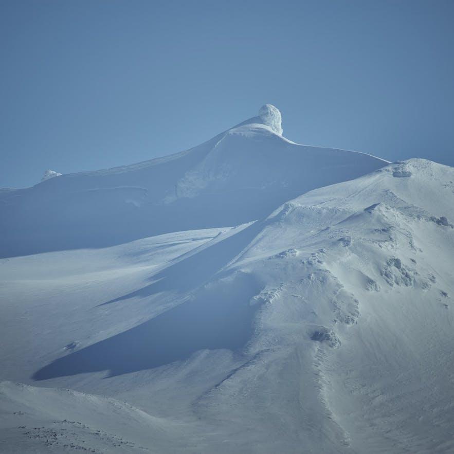 Snæfellsjökull glacier in Iceland
