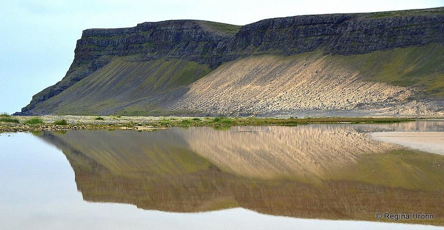 Breiðavík beach in the Westfjords of Iceland