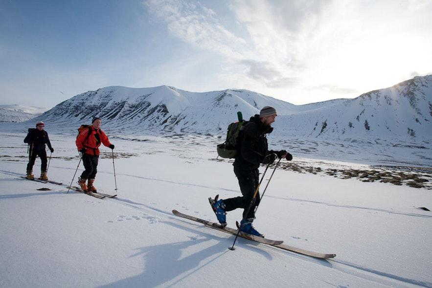Ski in the remote Westfjords of Iceland!