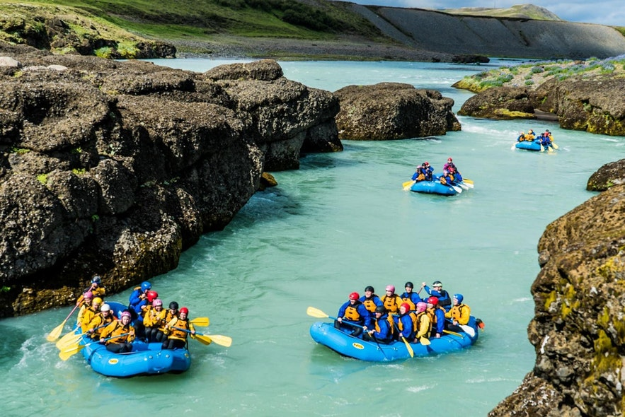 If you're planning on river rafting, you better be sure that you're going to get wet.