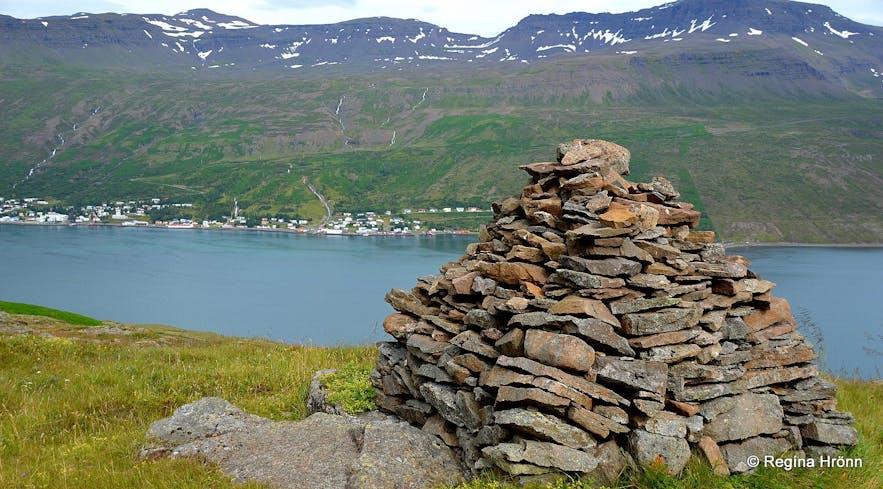 Völvuleiðið á Hólmahálsi East-Iceland