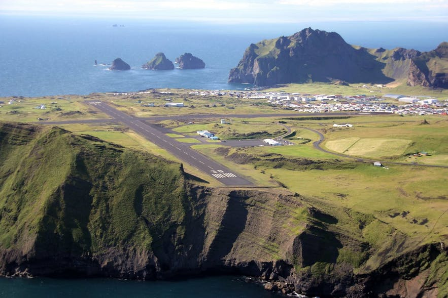 Heimaey is the only inhabited island in the Westman Islands, and has an airport.