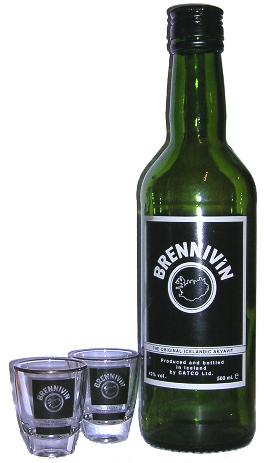 Brennivin is the main spirit of Iceland.