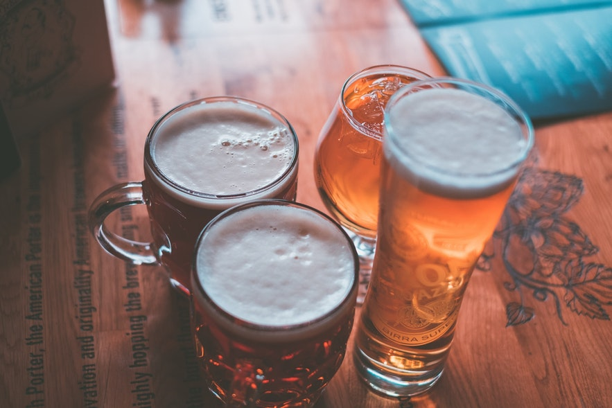 Icelander's favourite alcohol is beer!