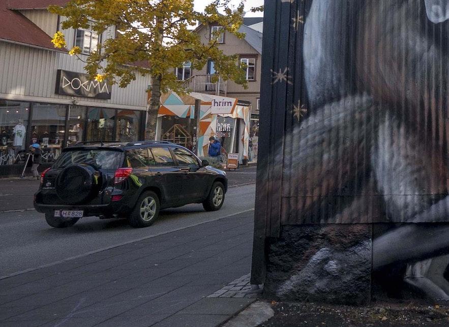 The front of Hrím in downtown Reykjavík.