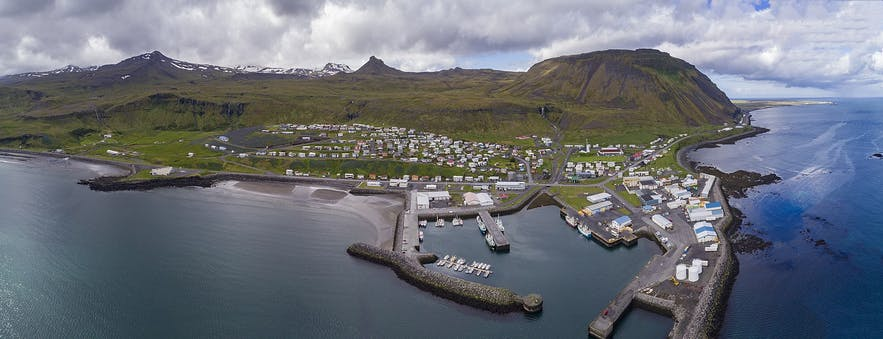 Olafsvik is a lovely coastal town on the Snaefellsnes Peninsula.