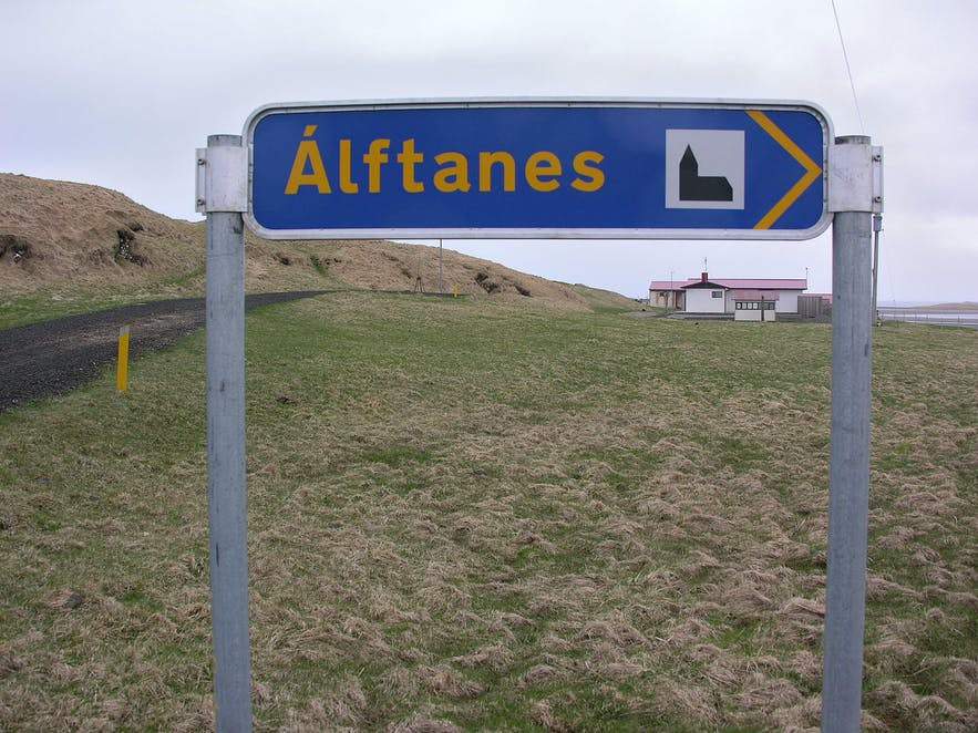 Alftanes is a small settlement within the capital region of Iceland.