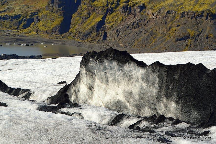 Sóleheimajökull glacier hike South-Iceland
