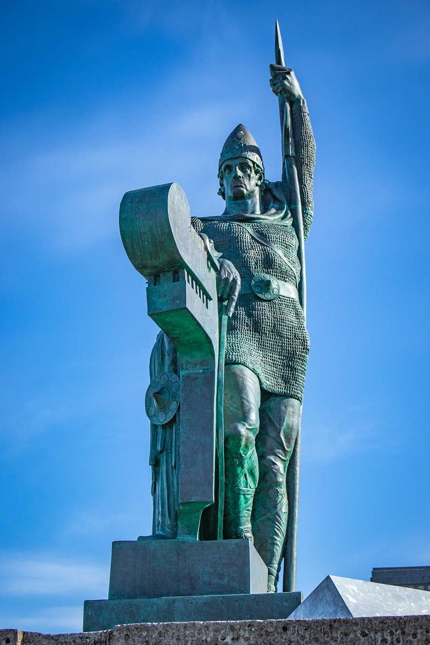 Ingolfur Arnarson is the most important Icelander in history as he founded the country!