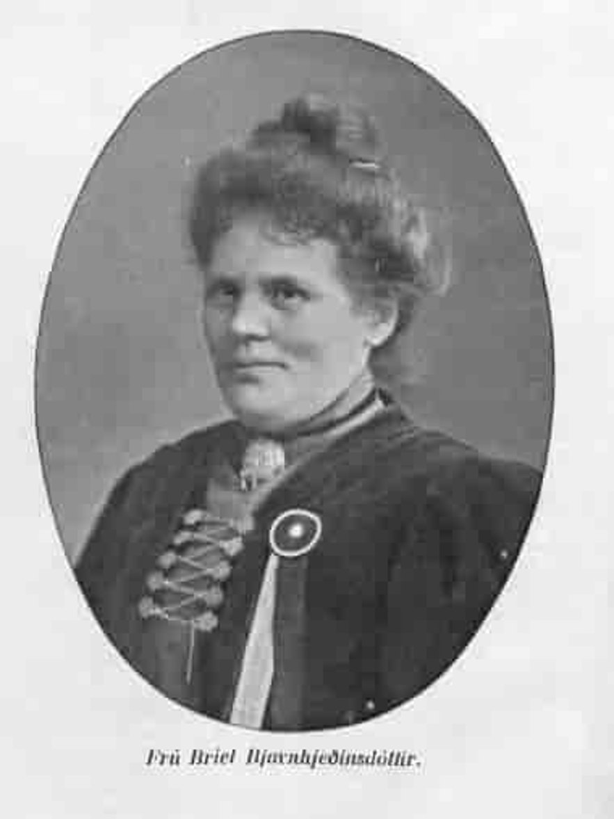 Briet is a renowned woman in Iceland's history.
