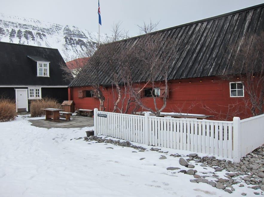 Tjöruhúsið in Ásafjörður is a top-notch restaurant.