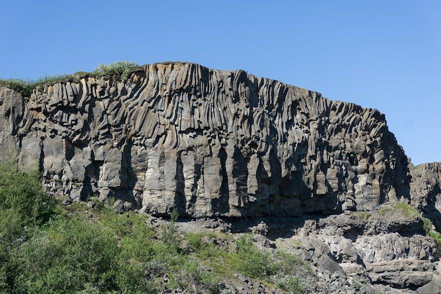 Hljóðaklettar (Sound Rocks) in Iceland are a hidden gem.