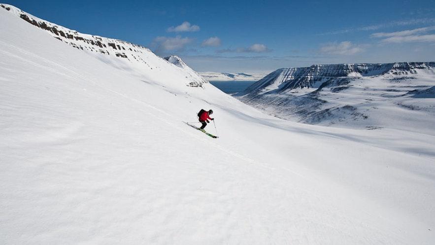ÍsafjörðurSki Resort has excellent potential for back country trails.