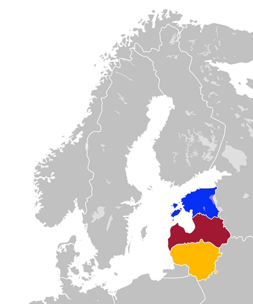 Iceland recognised the Baltic States as early as 1990.
