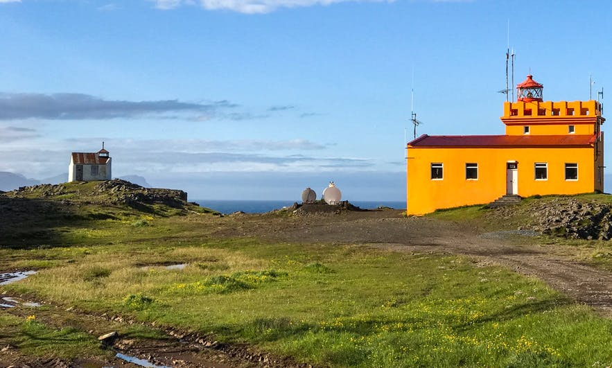 Dalatangi is a lighthouse in the Eastfjords.
