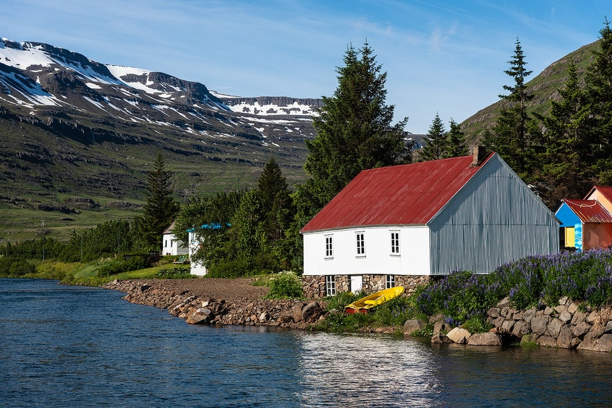 Seydisfjordur is a lovely town in East Iceland.