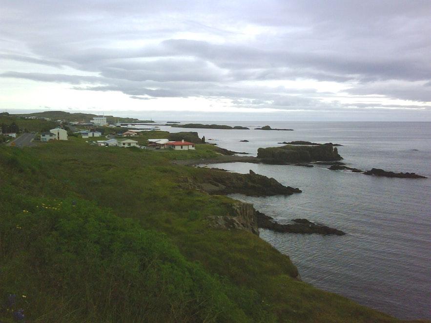 Vopnafjörður is a gorgeous town in East Iceland.