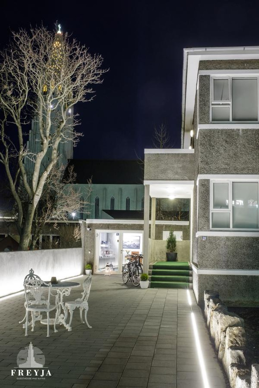 A guesthouse in Reykjavik is a great choice of accommodation.