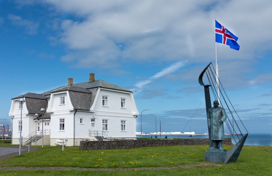 Höfði House may not look like much, but has a fascinating history.