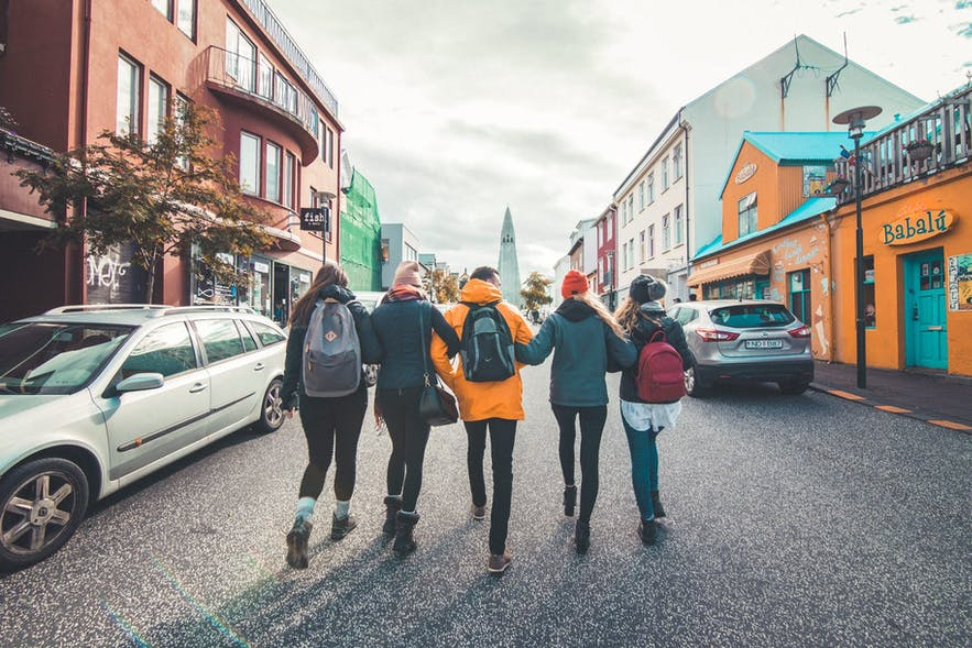 Food tours take you around Reykjavik.