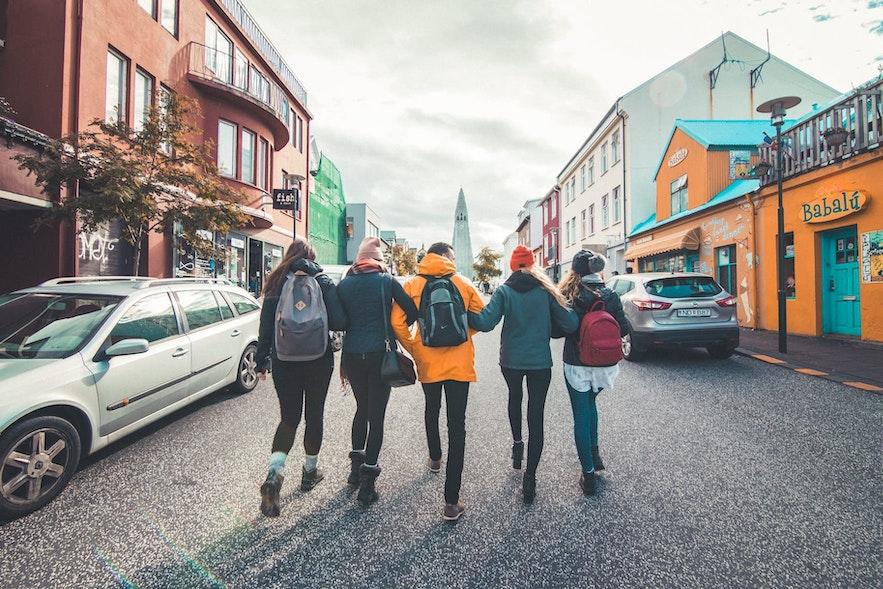 Food tours take you around Reykjavik.