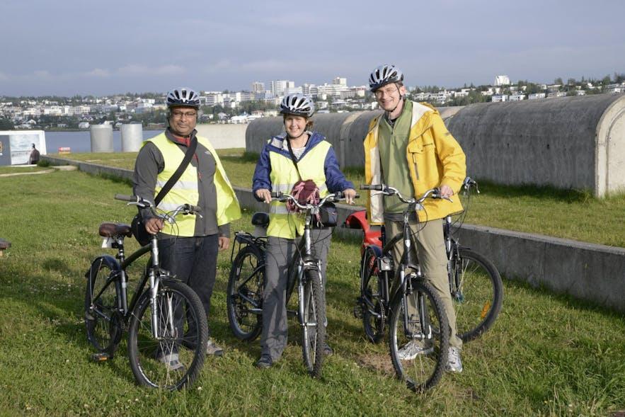 City bike tours will reach natural spots.