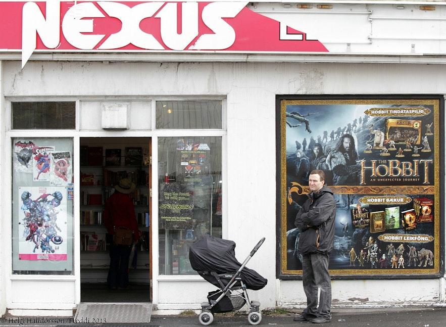 Nexus is the nerd shop of Reykjavik.