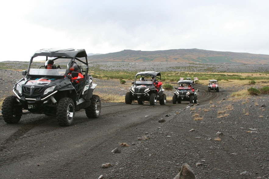 Buggy riding is a great Reykjavik activity.
