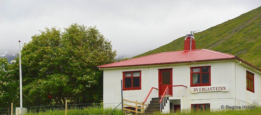 Dvergasteinn - the Dwarf Rock in Álftafjörður Westfjords