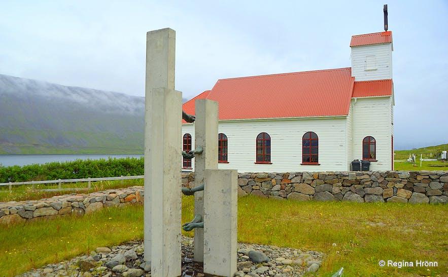 Súðavíkurkirkja church in Súðavík