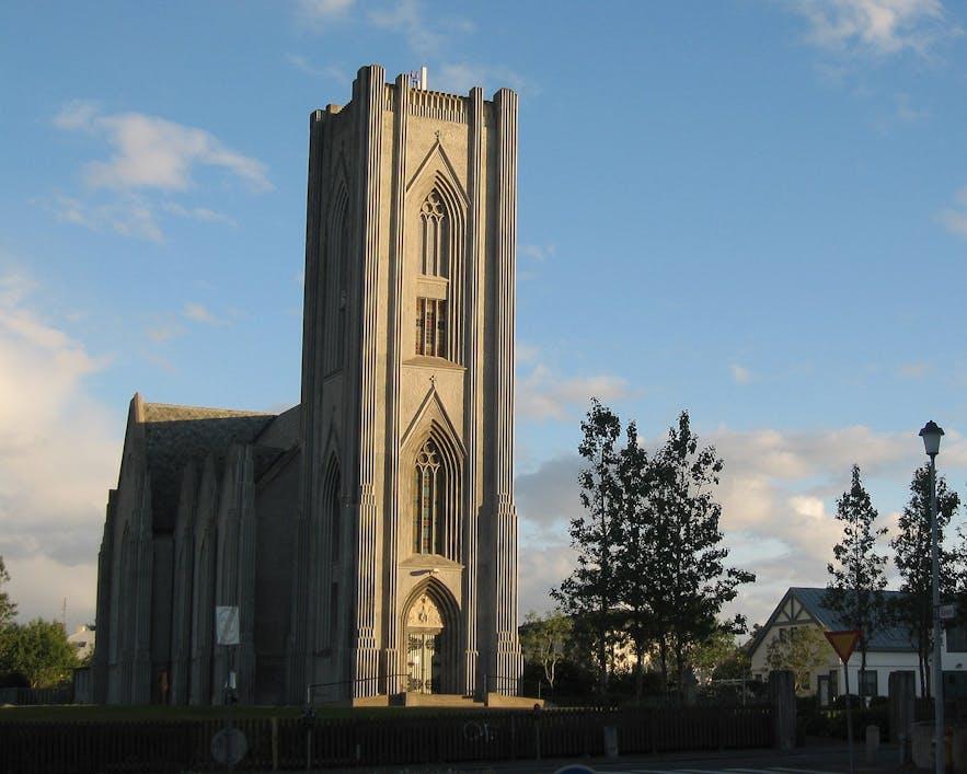 Landakotskirkja is a church found in downtown Reykjavik.